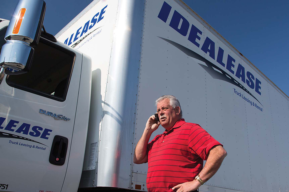 Stranded truck driver- Roadside Assistance