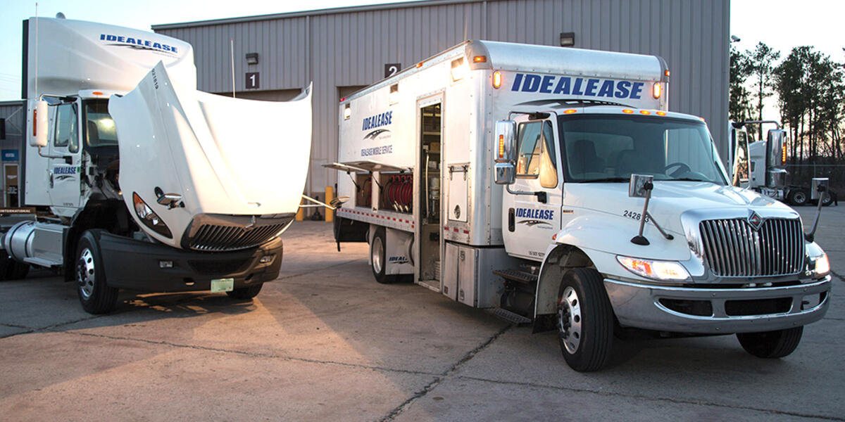 Mobile Service, Commercial Truck, Maintenance