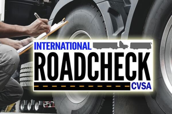 CVSA International Roadcheck 2020